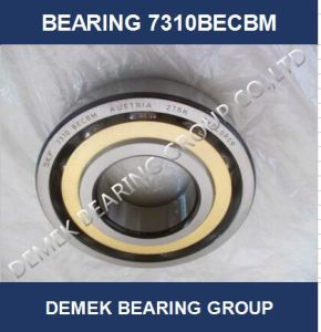 Angular Contact Ball Bearing 7310 Becbm with Brass Cage pictures & photos