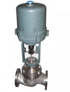 Electric Actuated Cage Type Pressure Balanced Flow Control Valve (GZDLM) pictures & photos