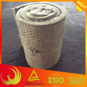 Thermal Insulation Glass Fiber Mesh Rock Wool Blanket (industrial) pictures & photos
