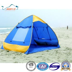 Automatic Pop up Beach Dome Sun Shelter Shady Tent for Beach Camping