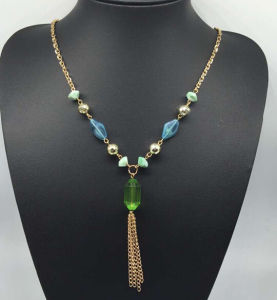 Colorful Beads Pearl Sweater Necklace (XJW13762) pictures & photos