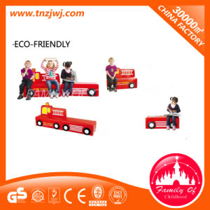 Modelling of The Train Kids Small Sofa Furniture in Kindergarten pictures & photos