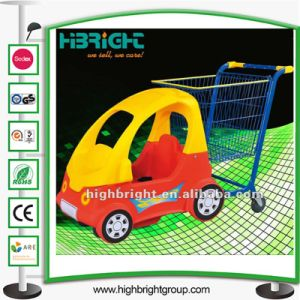 Shopping Mall Kids Trolley with Children Toy Car pictures & photos