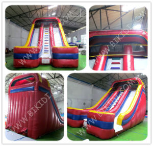 Inflatable Slide Children Playground Plastic Slide, High Quality Inflatable Bouncy Slider B4116 pictures & photos
