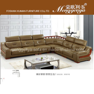 Top Grain Leather Luxury Sofa (816#)