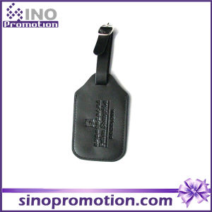 Custom Plastic Airplane Leather Luggage Tag pictures & photos