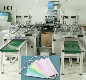 Disposable Medical Face Mask 3 Ply Surgical Face Mask Earloop Making Machine Kxt-FKM11 pictures & photos