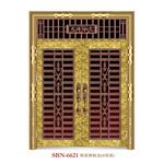 Door /Stainless Steel Door /Entrance Door/ Son and Mother (6621) pictures & photos