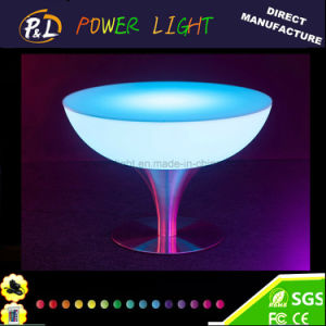 PE Material LED Coffee Table LED Furniture LED Bar Furniture pictures & photos