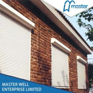 Automatic Roller Shutter Slat with Electric Motor for Wall Switch pictures & photos