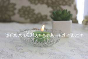 High Quality Plastic Shell Scented Tealight Candle pictures & photos