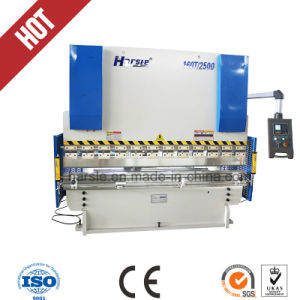 Hydraulic Plate Press Brake Wc67k-160t/3200 Bending Plate Steel Machine pictures & photos