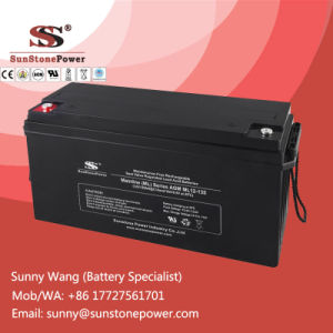 Deep Cycle 12V 135ah Renewable Solar Energy VRLA Battery pictures & photos