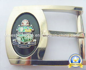 Zinc Die Cast & Plating Silver Belt Buckle pictures & photos
