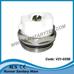 Manual Radiator Air Vent Bleed Plug Valve (V21-703) pictures & photos
