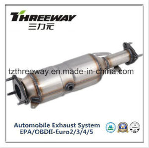 Three Way Catalytic Converter Direct Fit for Honda 2.4 pictures & photos
