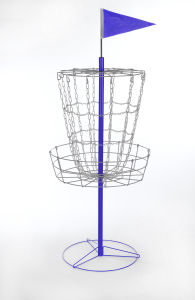 Disc Golf Basket with Cross Chains pictures & photos