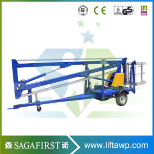 Mobile 6m to 12m Trailing Towable Cherry Picker pictures & photos