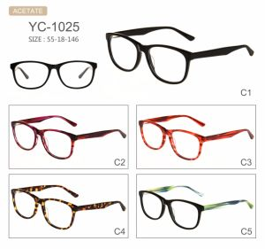 in Stock Hot Selling Acetate Eyeglasses Optical Frames pictures & photos