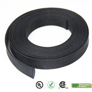 Flexo Insulation Pet Expandable Braided Wire Marker Sleeve pictures & photos