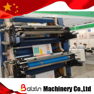 High Speed HD/Ld PE Film Blowing Machine in Line Flexo Printing Machine pictures & photos