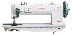 Long Arm Single/Double-Needle for Thick Material Sewing Machine pictures & photos