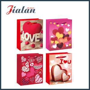 """New 2016 Design- Valentine′s Day """"Love"""" Hand Gift Paper Bag pictures & photos"""