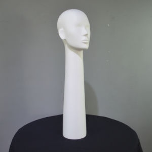 70cm FRP Female Head Mannequin for Scarf Display pictures & photos