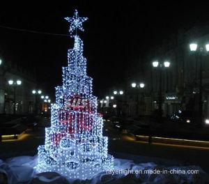 LED Motif Curtain Light Christmas Decoration pictures & photos