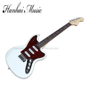 Hanhai Music / White Jaguar Electric Guitar pictures & photos