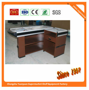Automatic Checkout Counter with Transfer Belt with Motor pictures & photos
