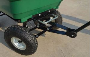 High Quality Garden Trailer Dumping Trolley pictures & photos