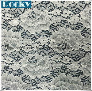 Elastic Lace Fabric for Wedding Dress with Best Price pictures & photos