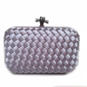 Fashion Handbag Party Bag Woven Box Lady Knot Clutch Bag pictures & photos