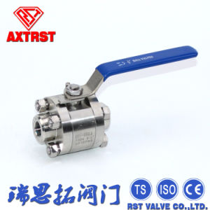 Forged Steel 3PC Thread Floating F304 Ball Valve From China pictures & photos