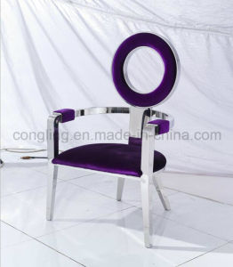 Modern Special Round Back Chair with Top Fabric LC16 pictures & photos