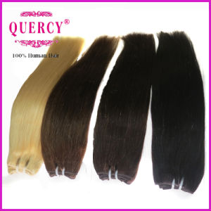 100% Human Hair Extensions, Blond Color Cheap Hair Weave Brazilian Human Hair pictures & photos