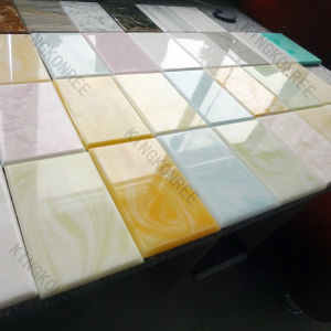 Kkr Acrylic Solid Surface Slabs for Wet Wall Panel pictures & photos