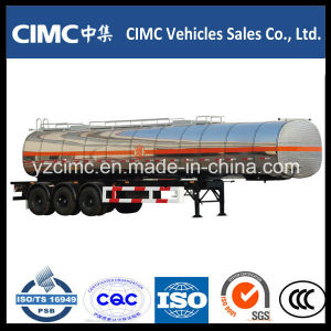 Cimc 40000L Liquid Oil Tanker Trailer pictures & photos