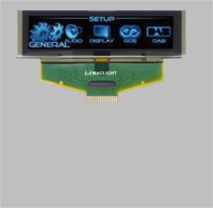 2.8 Inch Pm OLED Display Module with 256X64 Pixels pictures & photos
