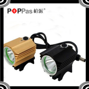 Black/Red/Golden Color Xm-L T6 Bicycle Light pictures & photos