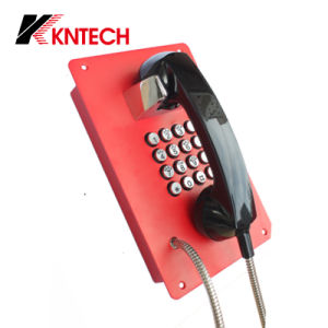 Auto Dial Telephone Security Phone Knzd-07b Kntech VoIP Phone pictures & photos