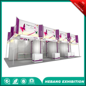 Hb-L00047 3X3 Aluminum Exhibition Booth pictures & photos