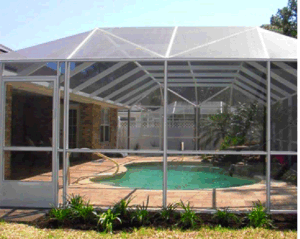2017 Hot Sale 18*14 Pool and Patio Screening/ Fiberglass with PVC Coated Made in China pictures & photos