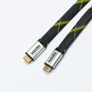 Male-Male USB HDMI Cable (HITEK-50) pictures & photos