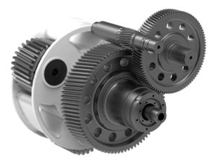 Small Steel Reduction Gear Box, Small Differential Gearbox OEM Service pictures & photos