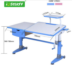 Height Adjutable Child Student Furniture Computer Table MDF Children Furniture pictures & photos