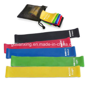 Great Elastic Resistance Loop Bands with Custom Printed Logo for Promotion pictures & photos