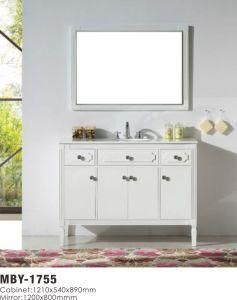 48 Inch Modern Single Sink Solid Wood Bathroom Vanity pictures & photos
