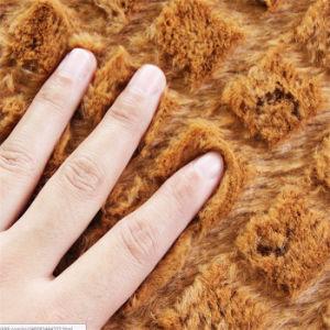 Chiristmas Gift! ! SGS Microfiber Silk Wool Rhombic Rug Flooring Mat Door Carpet (70X140) in Stock